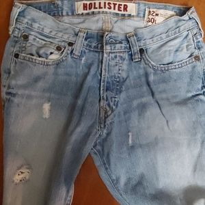 Men's Hollister jeans Hermosa low-rise boot cut